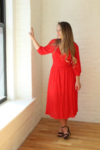 Load image into Gallery viewer, THE ROSIE RED DRESS
