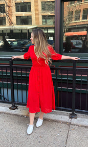 THE ROSIE RED DRESS