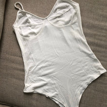 Load image into Gallery viewer, WHITE WONDER BODYSUIT