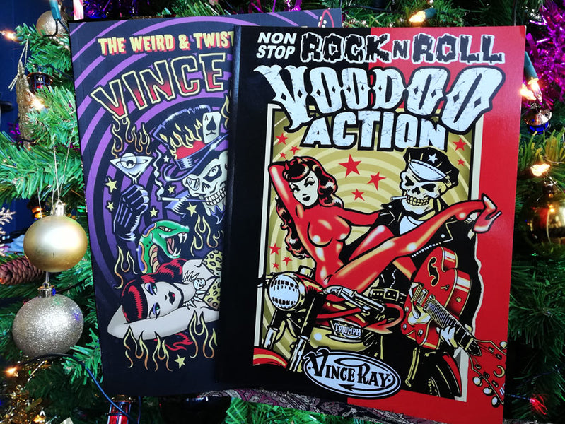 Christmas offer of BOTH Vince Ray signed books