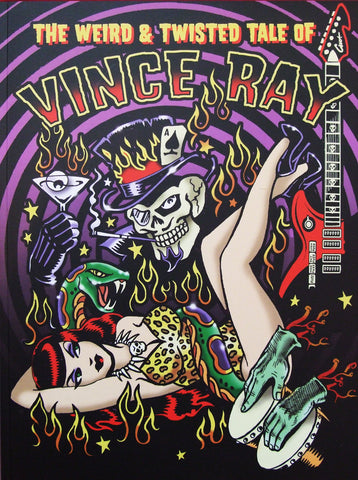 Vince Ray Book 1 front cover Weird and Twisted Tales
