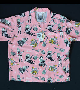 Vince Ray shirts by Stars of Hollywood, pink