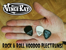 Load image into Gallery viewer, Vince Ray set of 3 plectrums picks