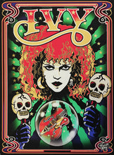 Load image into Gallery viewer, Poison Ivy, The Cramps tribute print on canvas