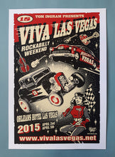 Load image into Gallery viewer, Vince Ray Viva Las Vegas 18, signed silkscreen print