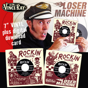 Vince Ray Loser Machine single vinyl record