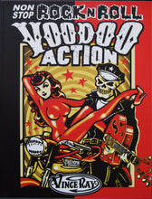 Load image into Gallery viewer, Vince Ray Book 2 Non Stop Rock n Roll Voodoo Action lowbow art book