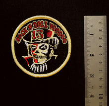 Load image into Gallery viewer, Vince Ray embroidered patch, Rock and Roll Voodoo 13