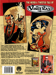 Vince Ray book 1 The Weird an Twisted tale of Vince Ray back cover