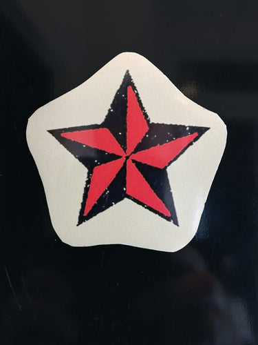 Star small fridge magnet