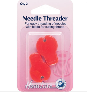 Hemline - Needle Threader With Cutter