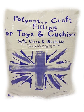 Polyester Toy Filling/Stuffing - 250g or 450g