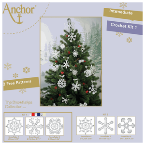Anchor Snowflake Crochet Kit 1