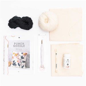 Punch Needle Kit - Letter Pillow