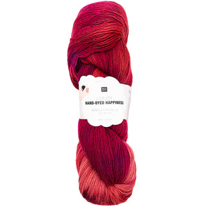 Hand-Dyed Happiness DK Red