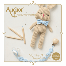 Load image into Gallery viewer, My First Friend - Crochet Peaceful Rabbit Kit