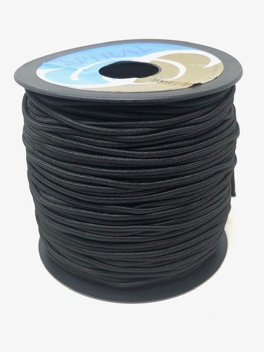 2.4mm Black Cord Elastic
