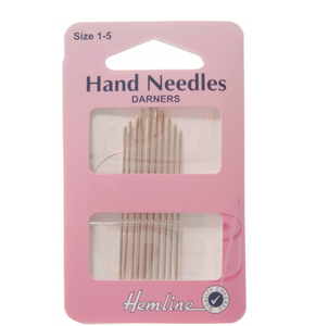 Hemline Darning Needles - Size 1-5