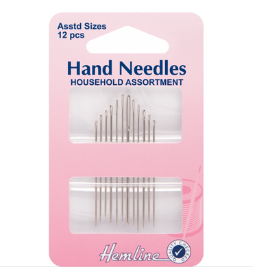 Hemline Household Assorted Needles