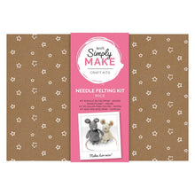 Load image into Gallery viewer, Needle Felting Kit (2pk) - Simply Make - Mice