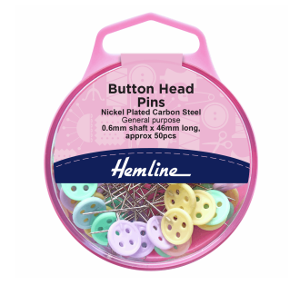 Hemline - Button Head Pins