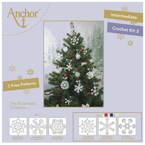 Anchor Snowflake Crochet Kit 2