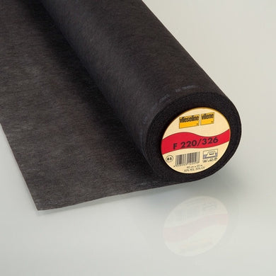 Vlieseline - Iron On Interfacing Medium Black