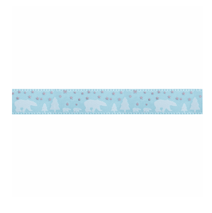 Satin Polar Bears Ribbon