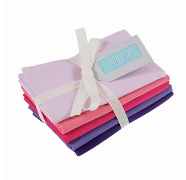 Trimits Fat Quarter Bundle - Blush