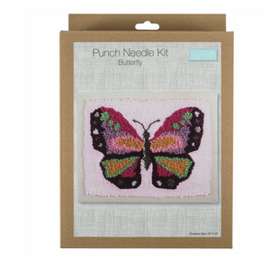 Punch Needle Kit - Butterfly