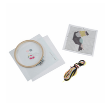 Load image into Gallery viewer, Felt Cross Stitch Kit - Toucan