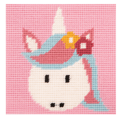 1st Needlepoint Tapestry Kit - Unicorn