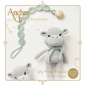 My First Friend - Crochet Cuddly Hippo Kit