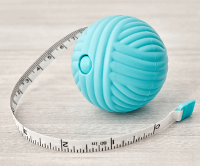 Yarn Ball Tape Measure