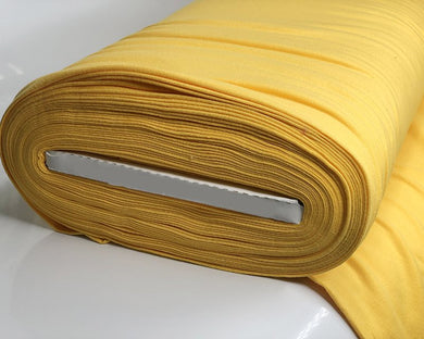 Plain Cotton Jersey - Yellow