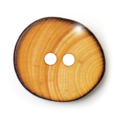15mm Wooden Button