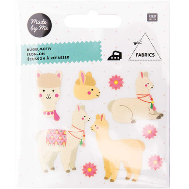 Iron On Patch - Alpacas