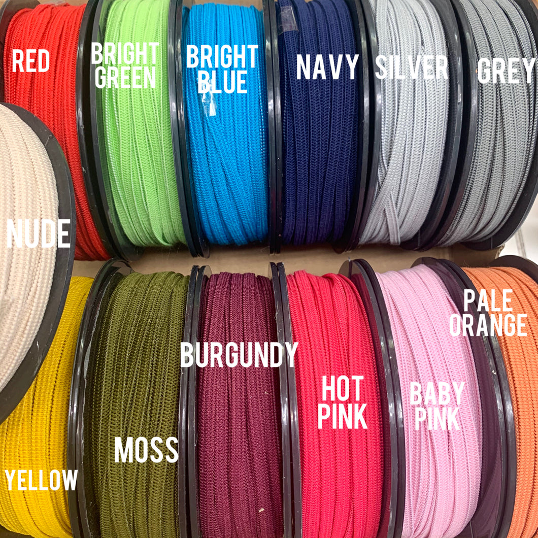 5mm Coloured Elastic