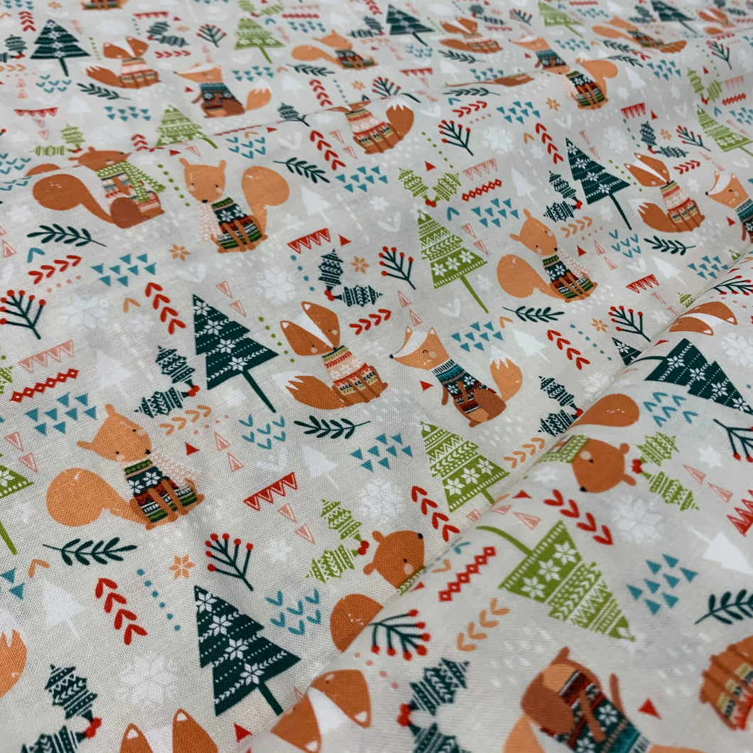 Foxes Fat Quarter
