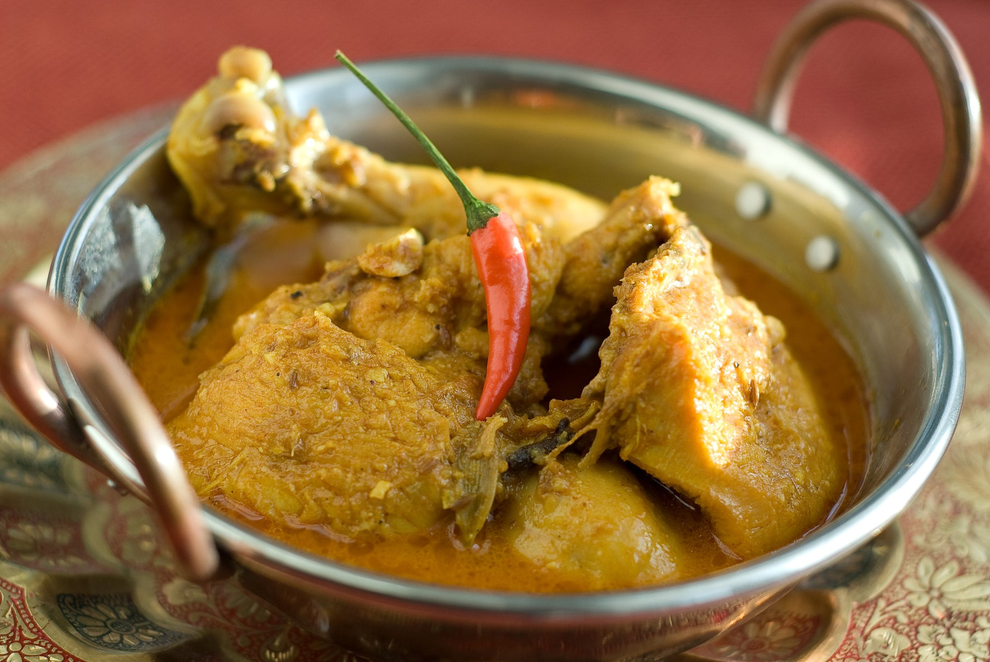 Jaswant's Kitchen Curried Chicken recipe