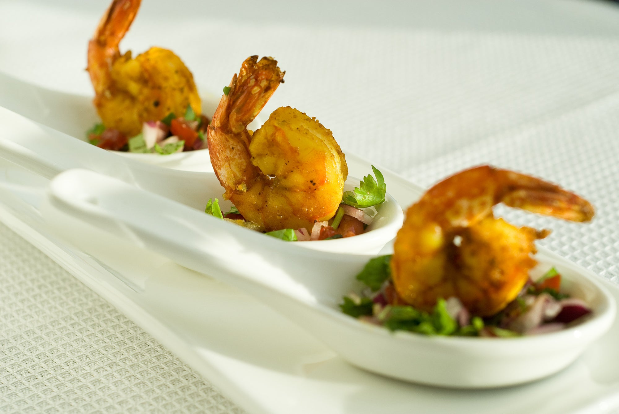 Jaswant's Kitchen Grilled Curry Shrimp
