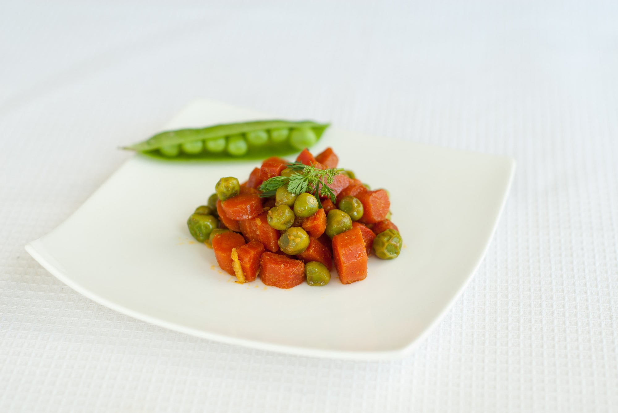 Jaswant's Kitchen Carrots & Peas recipe