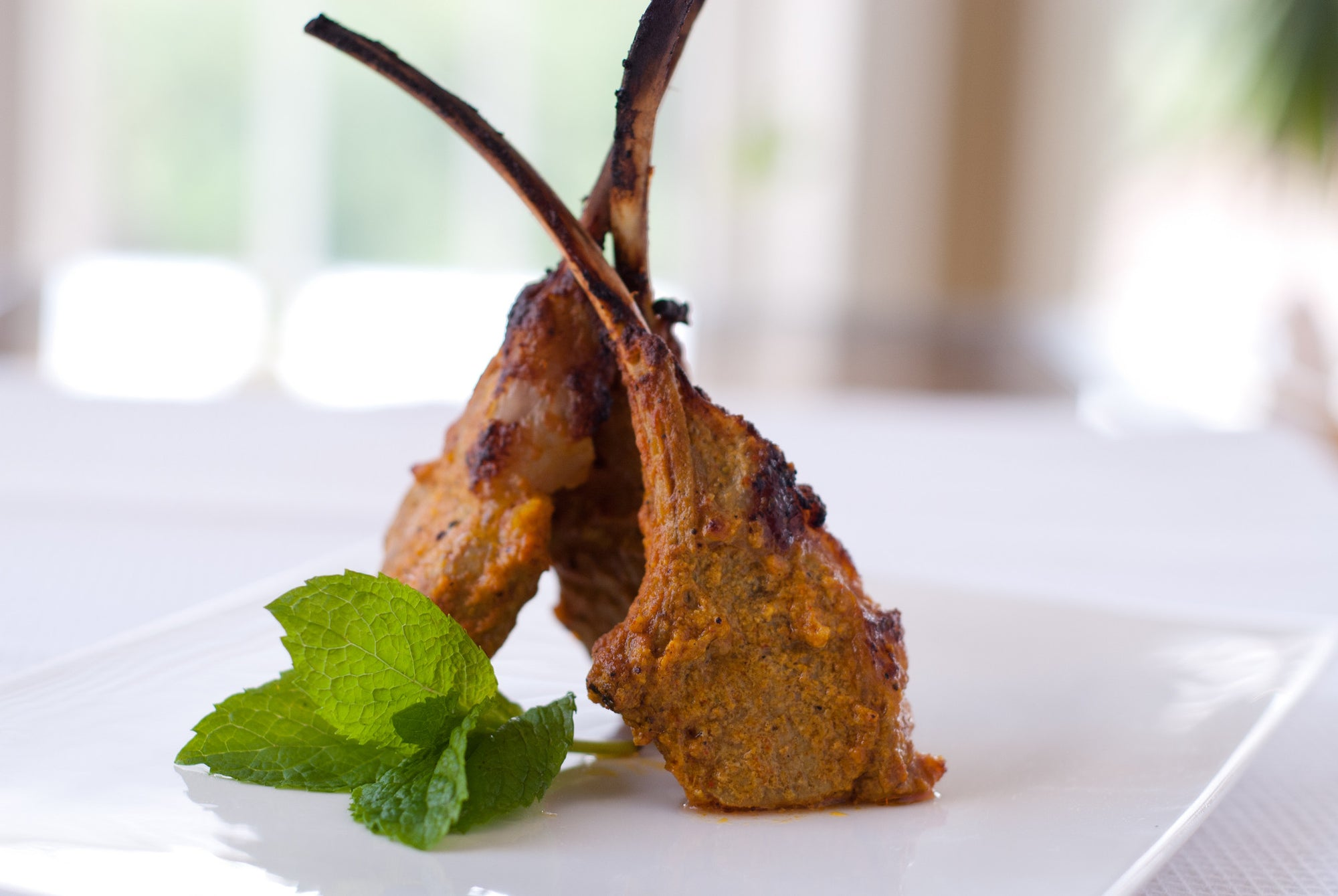 Jaswant's Kitchen Grilled Masala Lamb Chops recipe