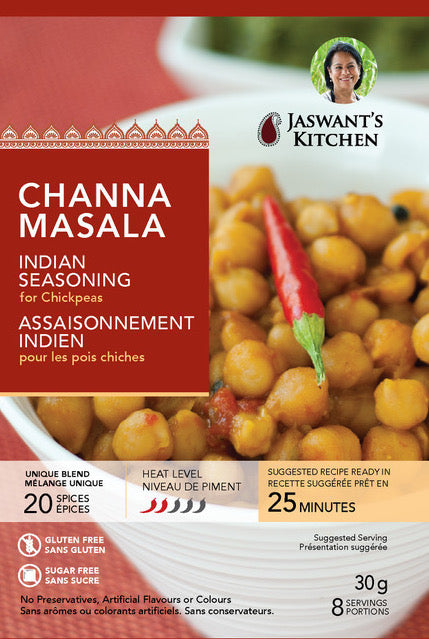 Jaswant's Kitchen Channa Masala Seasoning