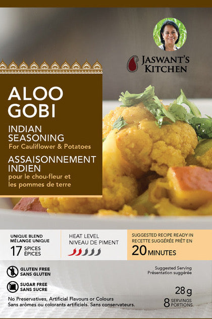 Jaswant's Kitchen Aloo Gobi Seasoning Pouch