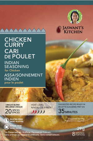 Jaswant's Kitchen Chicken Curry Seasoning
