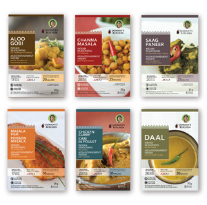Jaswant's Kitchen Indian Spices Sampler Kit