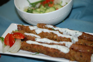 Jaswant's Kitchen Lamb Kebabs recipe