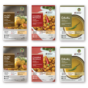 Indian Sampler Kit (vegan or omnivore)