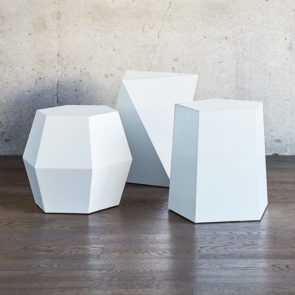 Facet Series | Matte White